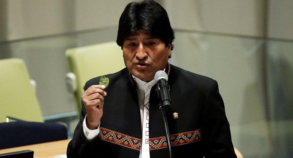 Evo Morales questiona Trump por querer paz só com Coreia do Norte