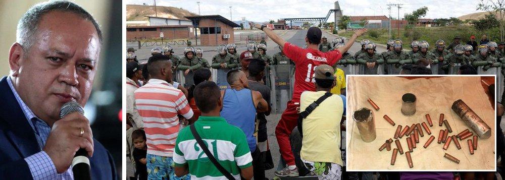 Munição que matou indígena na fronteira não é da Guarda Bolivariana, diz líder chavista