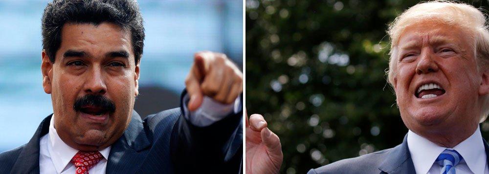 """Maduro quer encontro com Trump """"para evitar a guerra"""""""