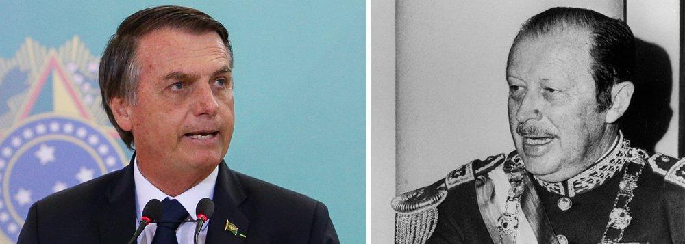 Defesa de ditadores é risco à democracia