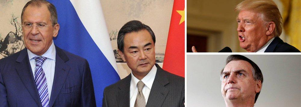 Rússia e China vetam guerra dos EUA contra Venezuela
