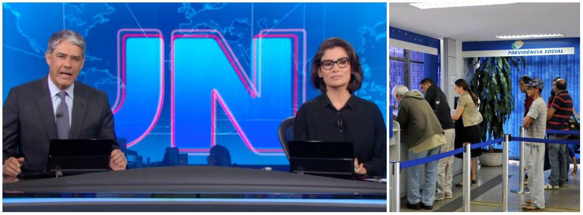 DCM: Globo vai poupar Bolsonaro em nome da reforma da Previdência