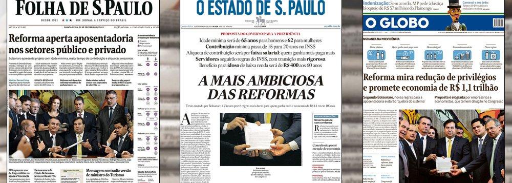 Mídia corporativa nunca foi tão feliz no Brasil