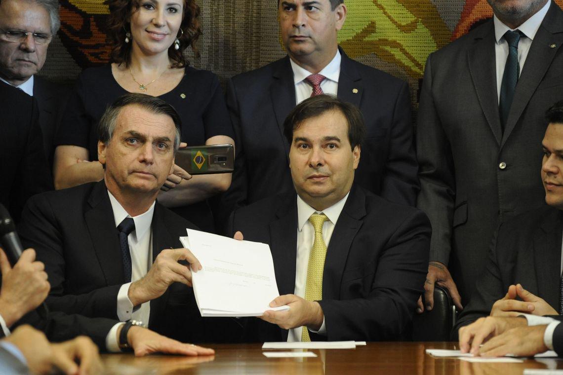 CUT: Bolsonaro lança campanha mentirosa para conseguir apoio à reforma