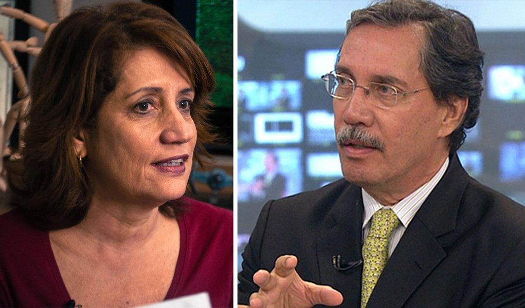 Operadora de telemarketing diz que Globo enquadrou Merval e Miriam. Empresa nega