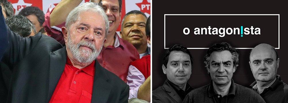 TJ de São Paulo suspende investigação contra O Antagonista por crime contra honra de Lula