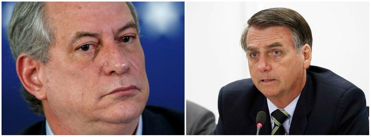 Ciro: Bolsonaro foi eleito por um moralismo de goela que não se sustenta