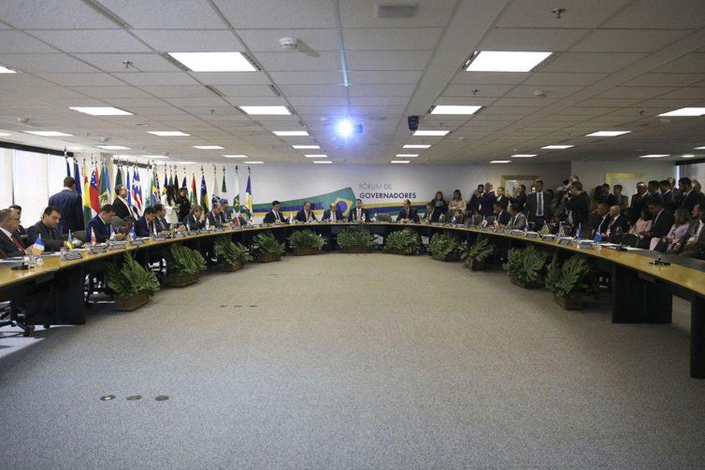 Em reunião com Guedes, governadores discutem reforma da Previdência