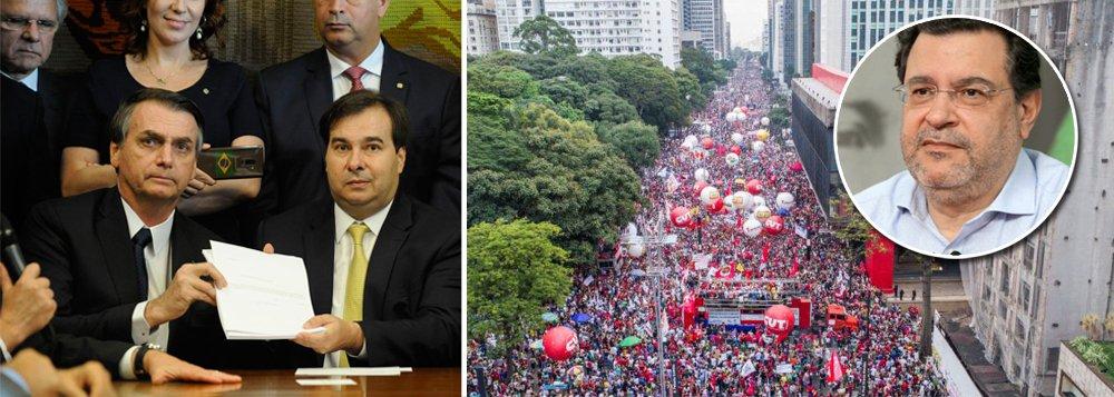 Pimenta: com mobilização, Bolsonaro não conseguirá aprovar reformas