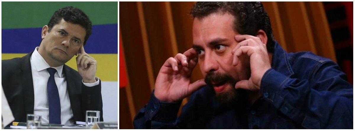 Boulos questiona Moro sobre caixa 2: laranjal do PSL mudou sua convicção?