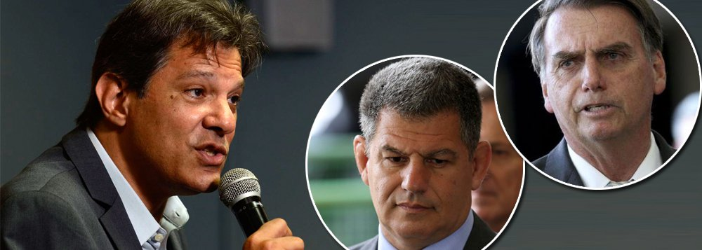 Fernando Haddad: inacreditável, Bolsonaro mentiu no caso Bebianno