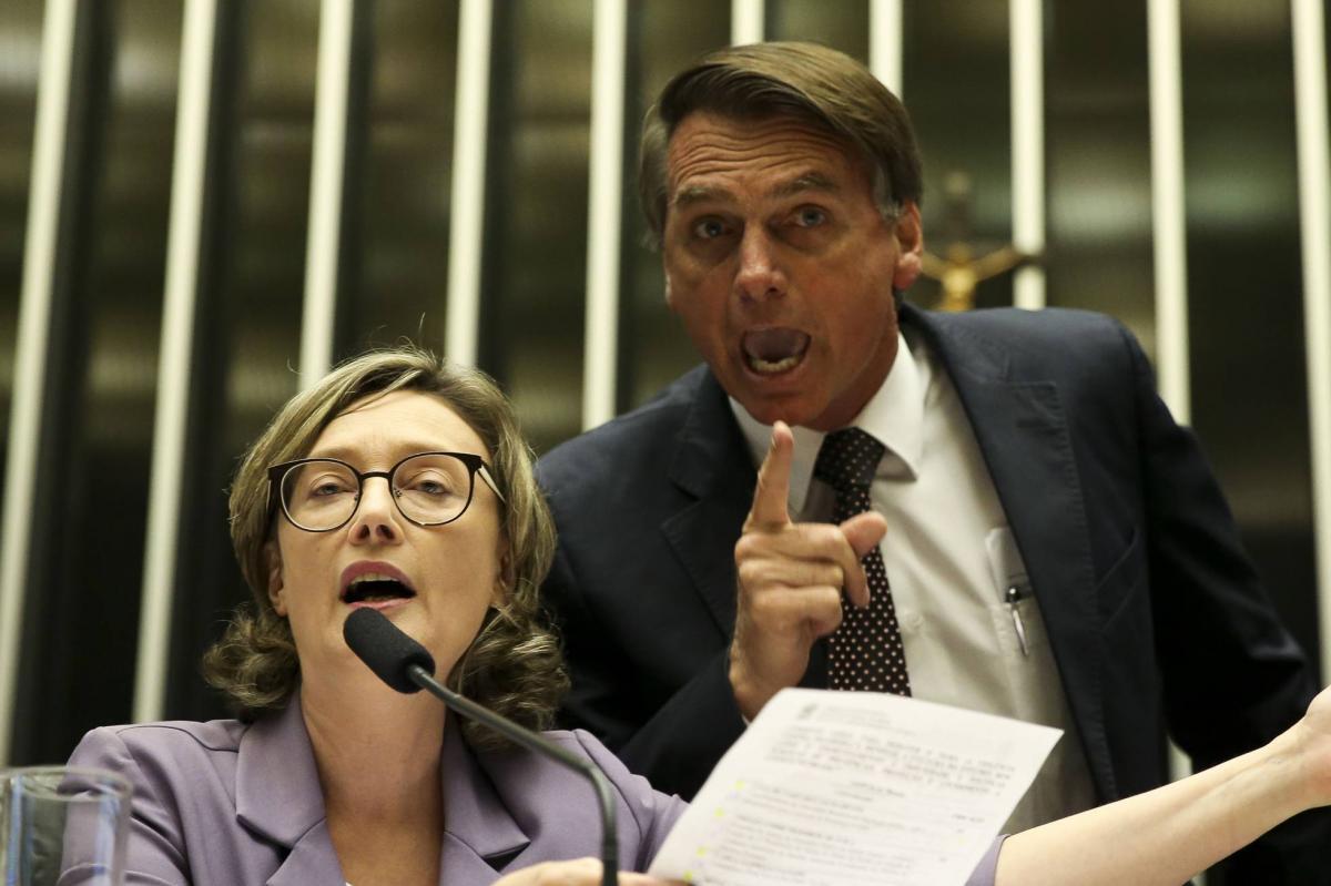 Marco Aurélio manda Bolsonaro pedir perdão a Maria do Rosário