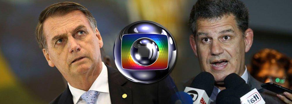Bolsonaro a Bebianno: a Globo é inimiga