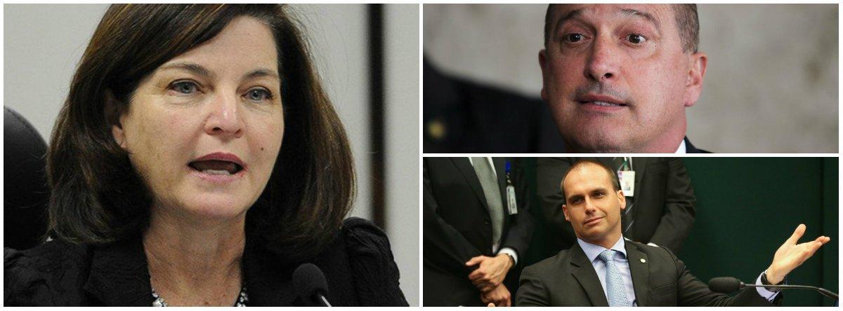 Raquel pede que investigações sobre Onyx e Eduardo Bolsonaro saiam do STF