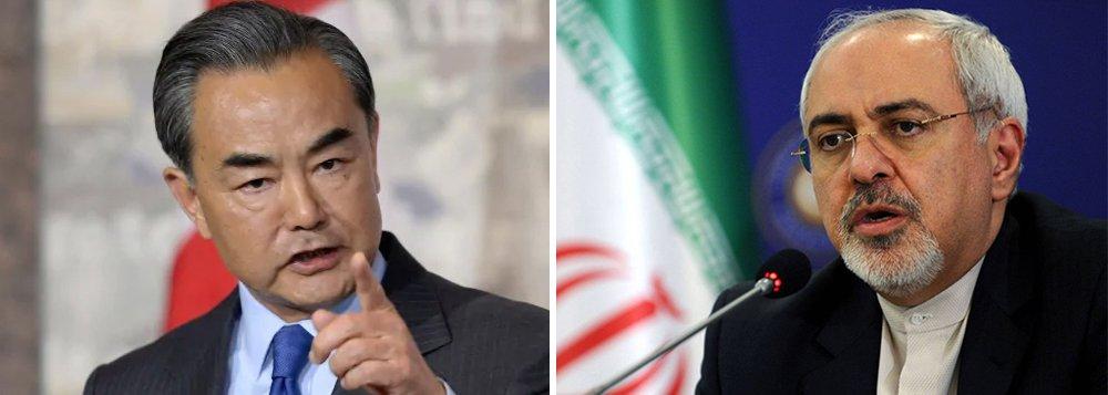 China e Irã reforçam cooperação em questões de interesse mútuo