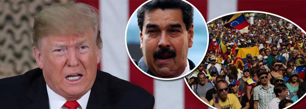 Trump ameaça militares Venezuelanos: vocês perderão tudo