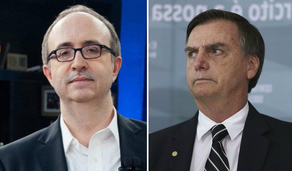 Reinaldo é a primeira voz na mídia a pregar golpe dos militares contra Bolsonaro