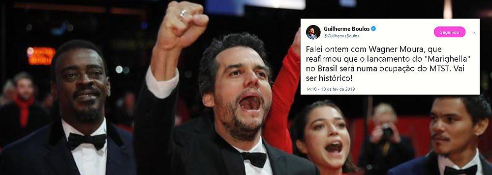 Lançamento do filme de Marighella no Brasil será em assentamento do MTST