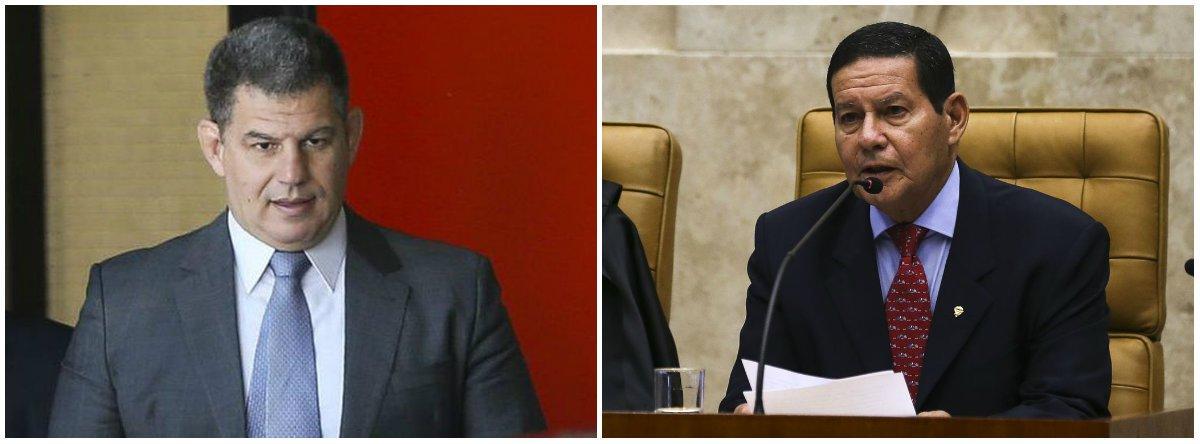Racha do PSL com bolsonaristas vem desde a escolha do vice de Bolsonaro