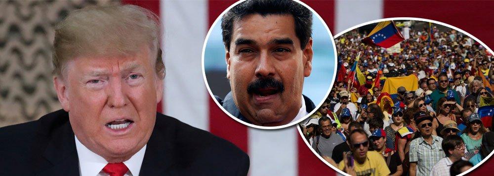 Trump em 2017: 'por que não estamos em guerra com a Venezuela? Eles têm todo esse petróleo…'