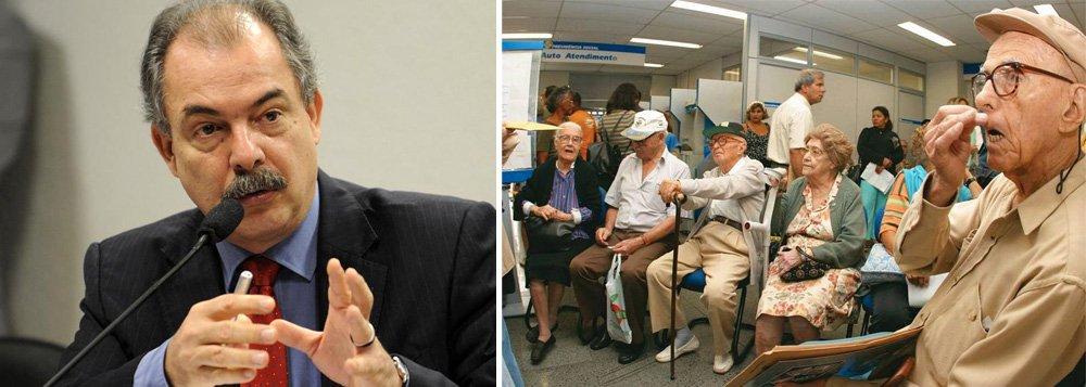 Aloizio Mercadante: reforma da Previdência é socialmente perversa