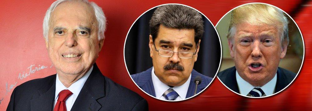 Samuel Pinheiro Guimarães: EUA criaram a crise humanitária na Venezuela