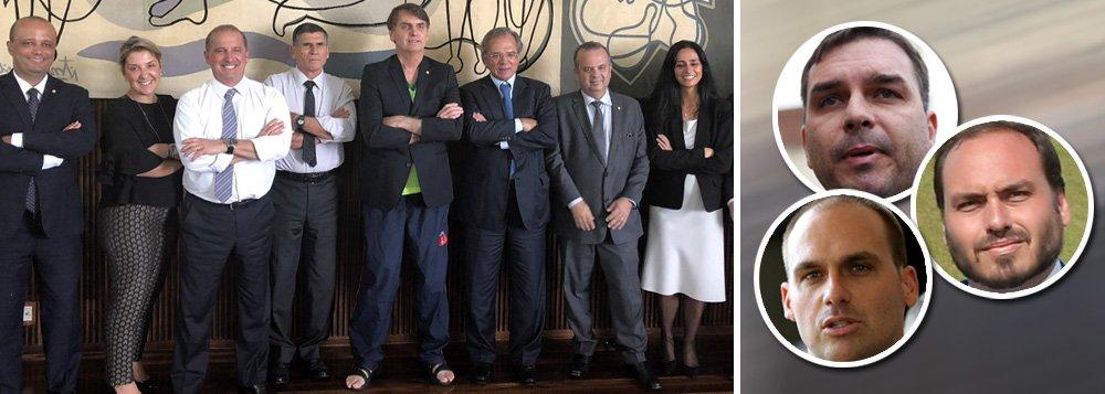Mídia tem raro consenso: clã Bolsonaro não dá mais