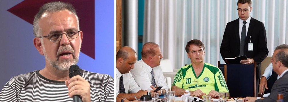 Kiko Nogueira: só falta agora Bolsonaro divulgar foto coçando o saco