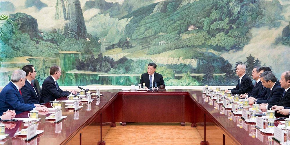 Xi Jinping recebe delegação dos EUA apostando no fim da guerra comercial