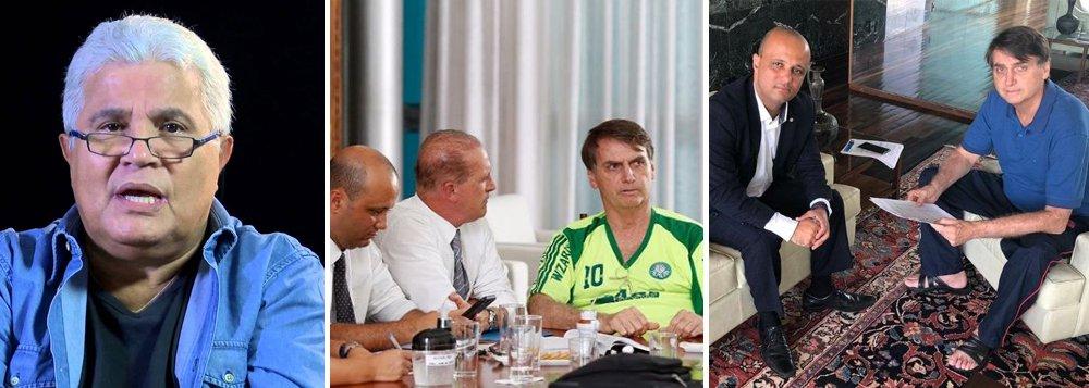 Noblat detona Bolsonaro: usa camisa falsa e posa como indigente