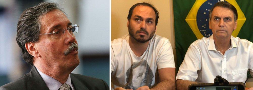 Merval Pereira: Carlos Bolsonaro usando twitter do pai é muito grave