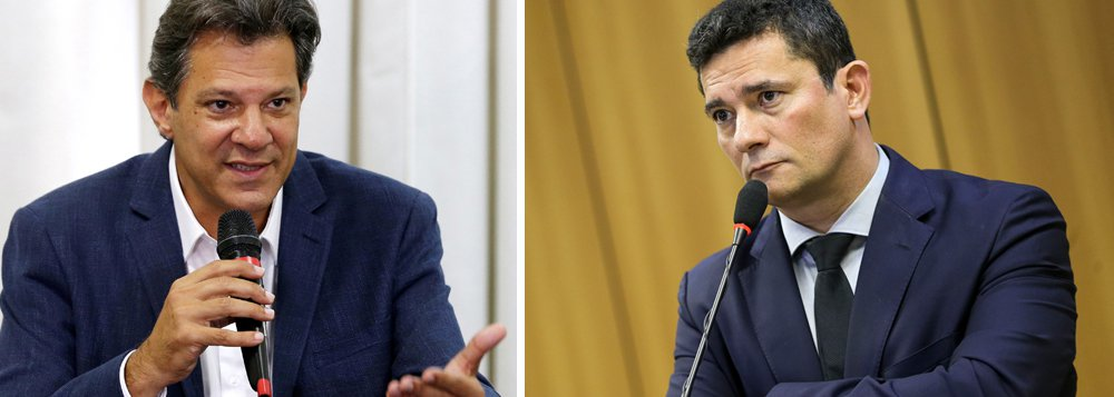 Haddad cobra de Moro explicações sobre reunião com fabricante de armas