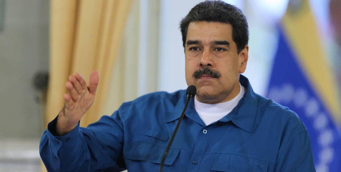 Maduro diz que Duque e Trump fazem festa do ódio contra a Venezuela