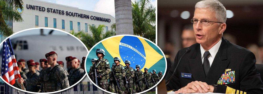 'Exército brasileiro pode virar puxadinho das Forças Armadas dos EUA'
