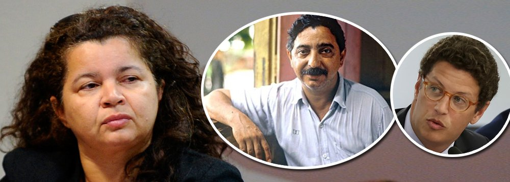 Angela, filha de Chico Mendes: ministro pensa que pode matar um imortal