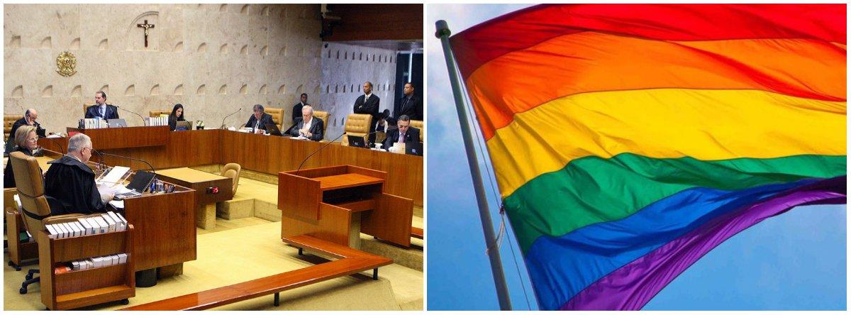STF começa a julgar nesta quarta-feira ações que pedem criminalização da homofobia