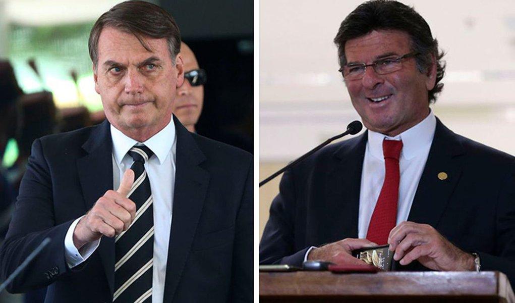 Tijolaço: Fux suspende processos de Bolsonaro que ele próprio não fez andar