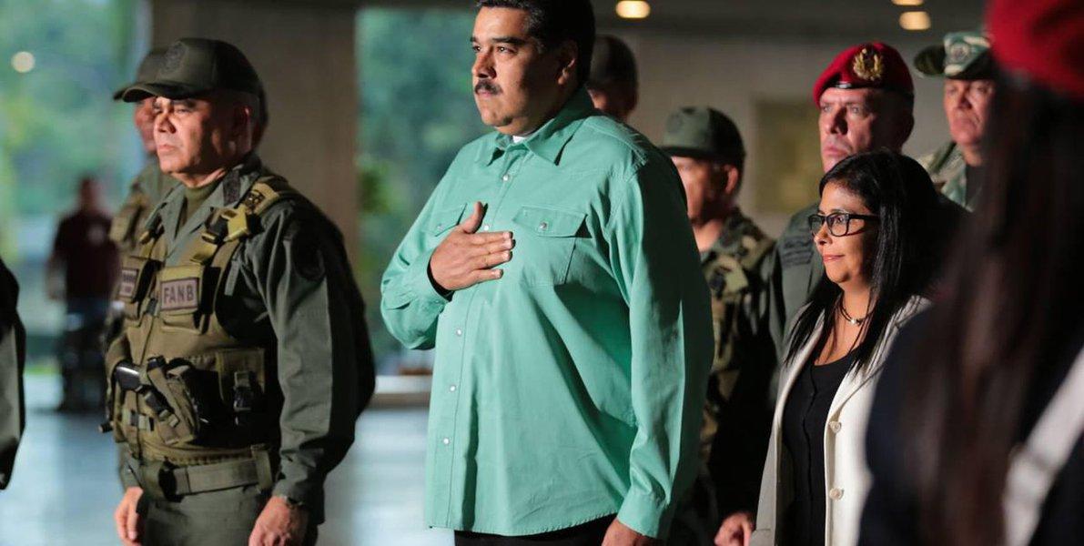 Em reunião com comando militar, Maduro destaca capacidade de defesa do país
