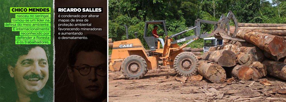 Cineasta que filmou Chico Mendes rebate Ricardo Salles