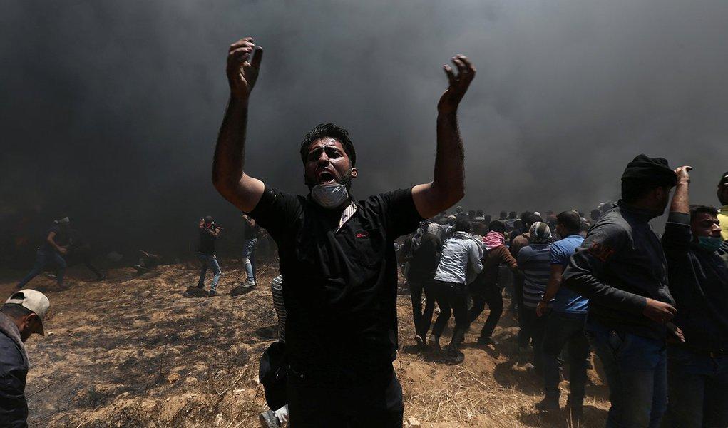 Israel volta a atacar manifestantes palestinos na Faixa de Gaza