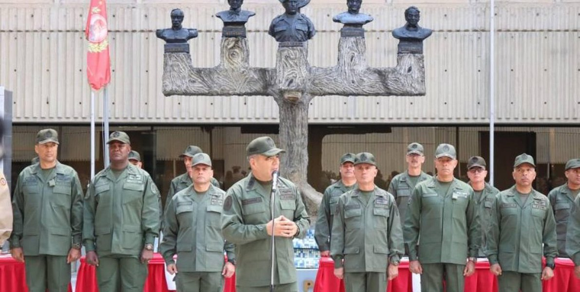 Ministro da Defesa da Venezuela diz que militares não cedem em sua dignidade nacional