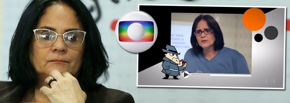 Globo detona Damares e aponta suas mentiras mais grotescas