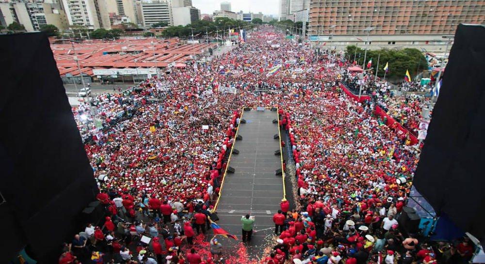Solidariedade com Venezuela, contra as ameaças de guerra