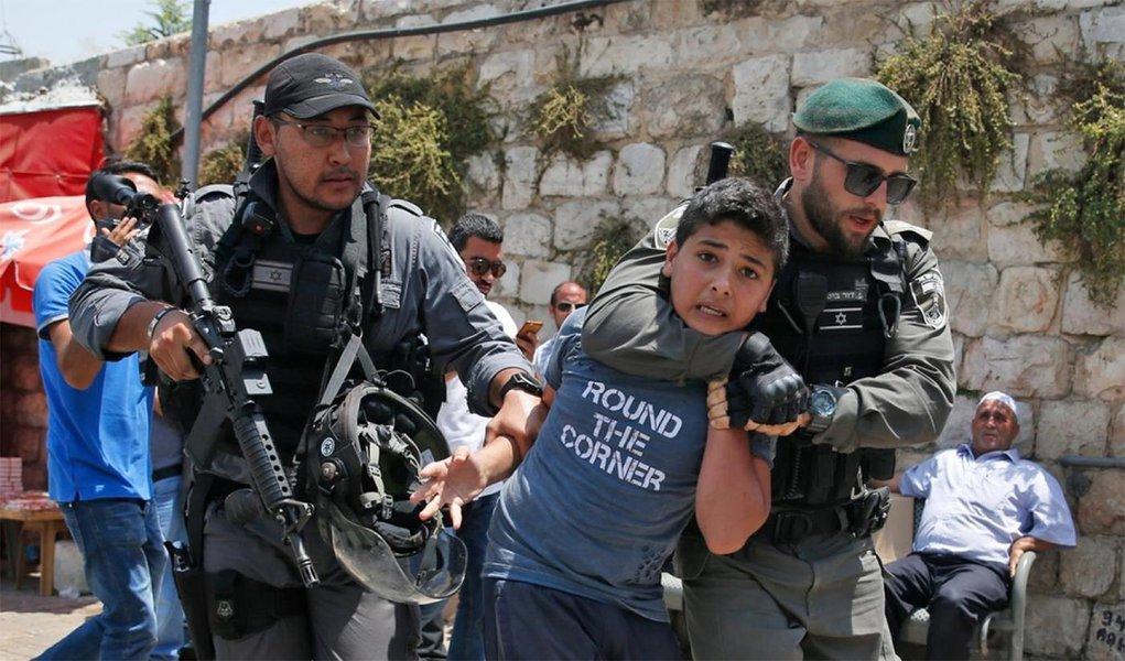 Unicef condena violência israelense contra crianças palestinas
