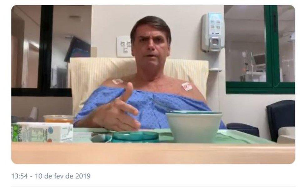 Do hospital, Bolsonaro diz que facada foi terrorismo e acusa PSOL