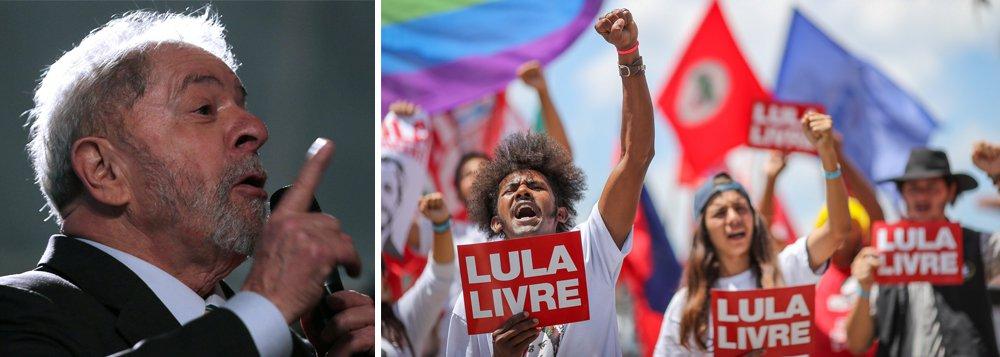 Prisão de Lula até 2044 marca nova sabotagem da democracia