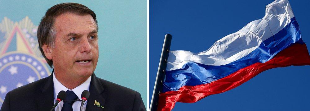 Bolsonaro defende aprofundamento nas relações com Rússia, segundo embaixador russo