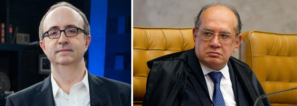 Reinaldo Azevedo: vazamento sobre Gilmar Mendes é político