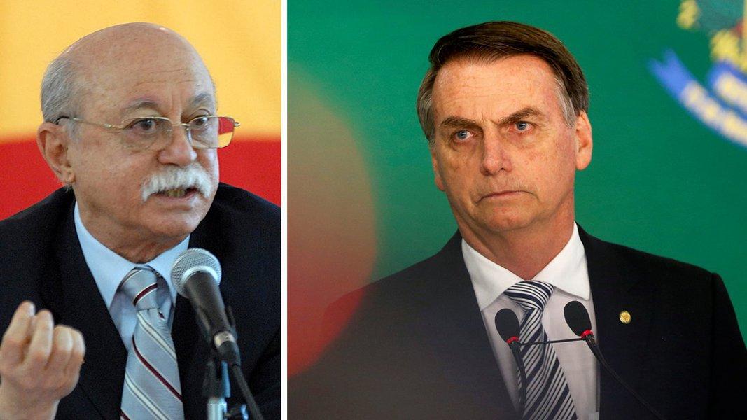 Amaral: Bolsonaro parece governar, mas é governado por um projeto de lesa-pátria