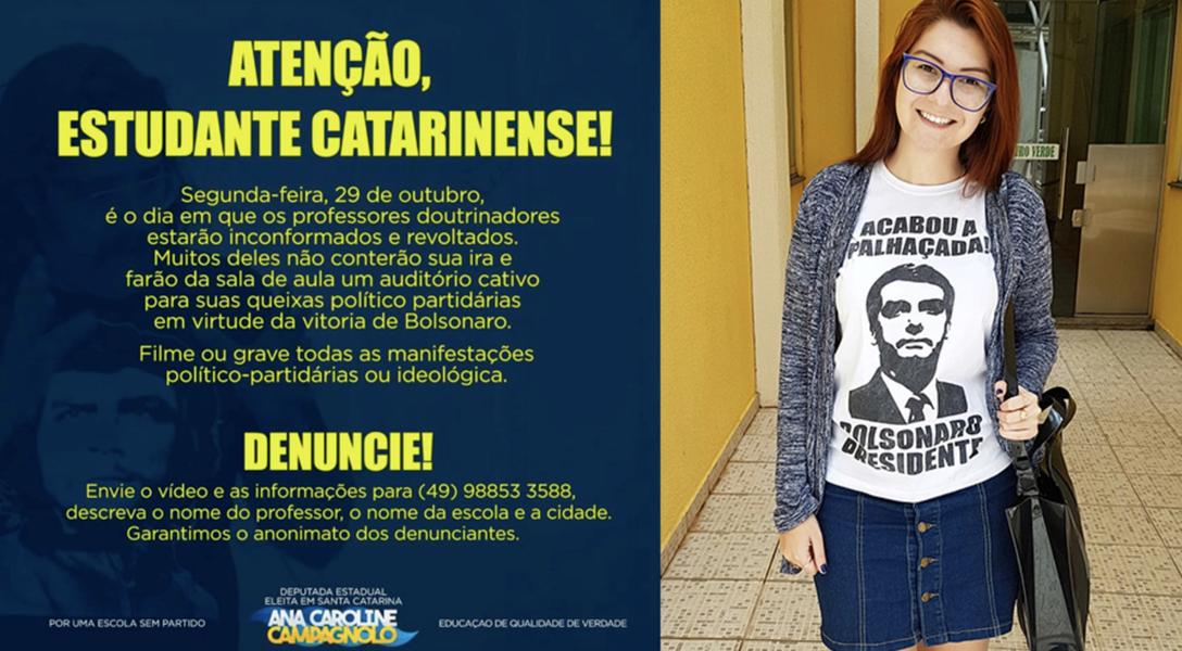 Fachin suspende decisão que permitia deputada a incitar fascismo contra professores